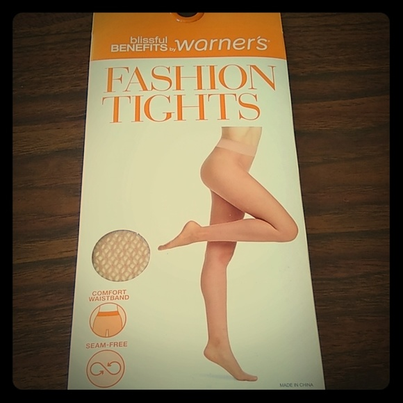 a0db000a7a11 Warner's Other | Nude Fashion Tights Blissful Benefits By Warners ...